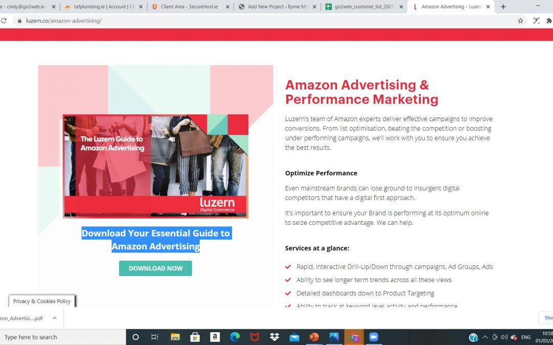 The Luzern Guide to Amazon Advertising